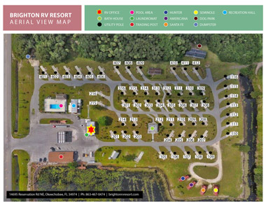 Resort Aerial View Map