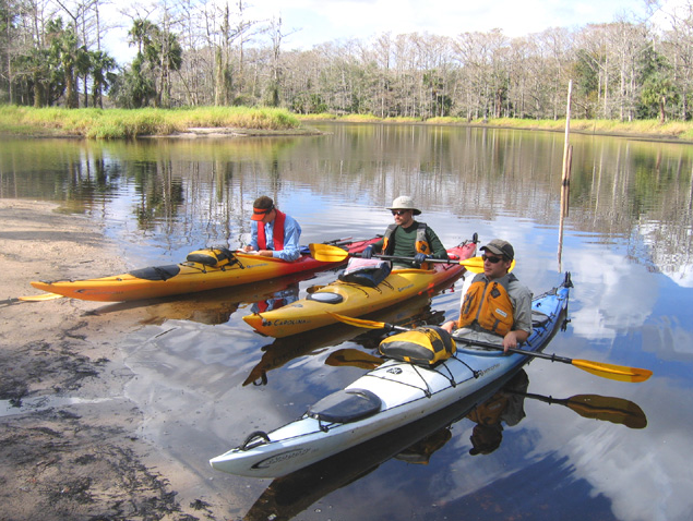 Kayaking with Fisheating Creek Outpost